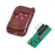 315MHz RF Remote Transmitter and Receiver Module Kit