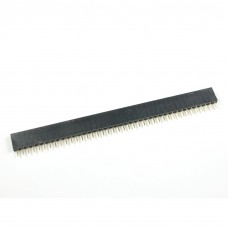 40 Pin 2.54mm Pitch Female Straight Pin Header Socket Single Row