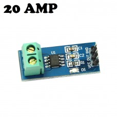 ACS712 Hall Effect Current Sensor Module - 20A Amps