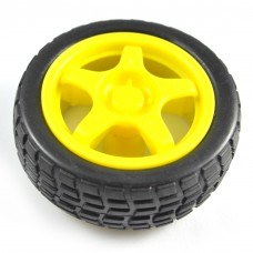 Plastic Wheel for Robot Chasis