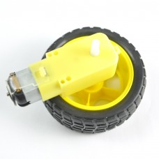 Replacement Wheel and Motor for Robot Chasis