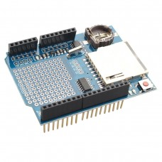 Arduino Data Logger Logging Shield with SD Card Slot and RTC