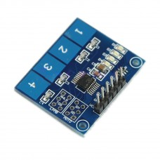 TTP224 4 Button Digital Capacitive Touch Switch Sensor