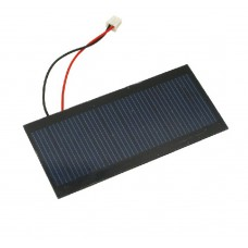 5V 100mA Polycrystalline Solar Cell Panel with Connector
